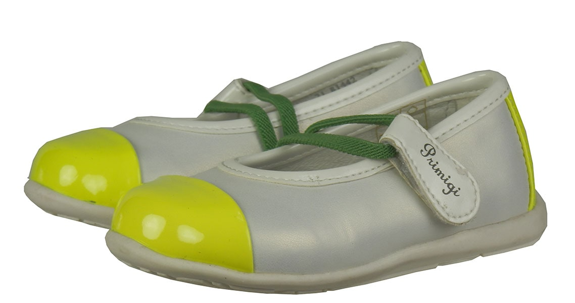 PRIMIGI Shoes (81442)White/Yellow