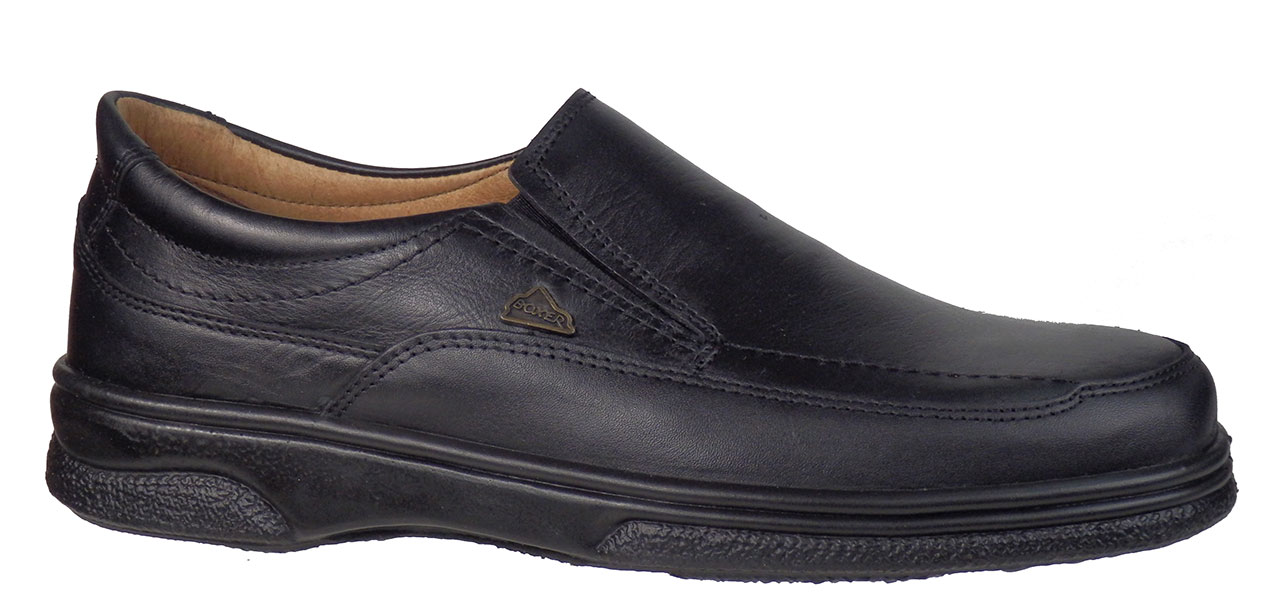 BOXER Shoes 11533 Μαύρο ανδρικά   loafers μοκασίνια