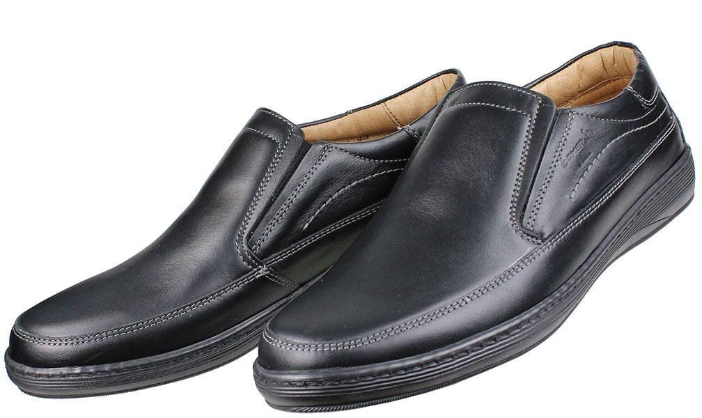 BOXER Shoes 21104 Μαύρο ανδρικά   loafers μοκασίνια