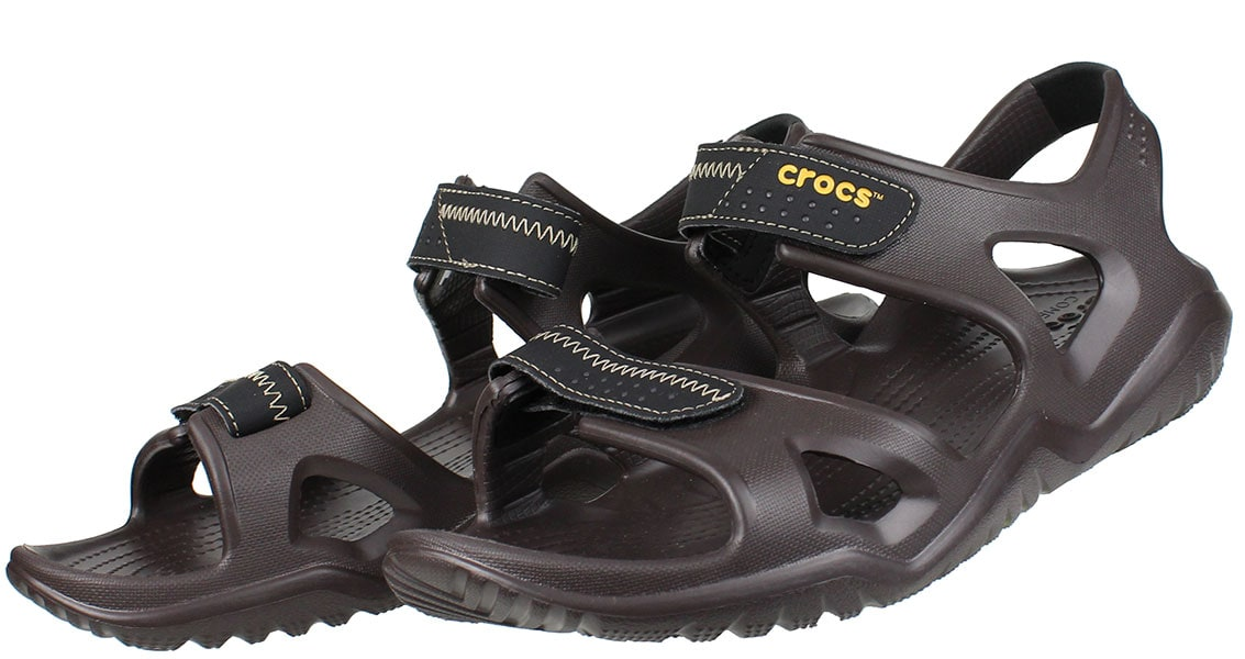 CROCS Swiftwater sandal 203965-23K Καφέ