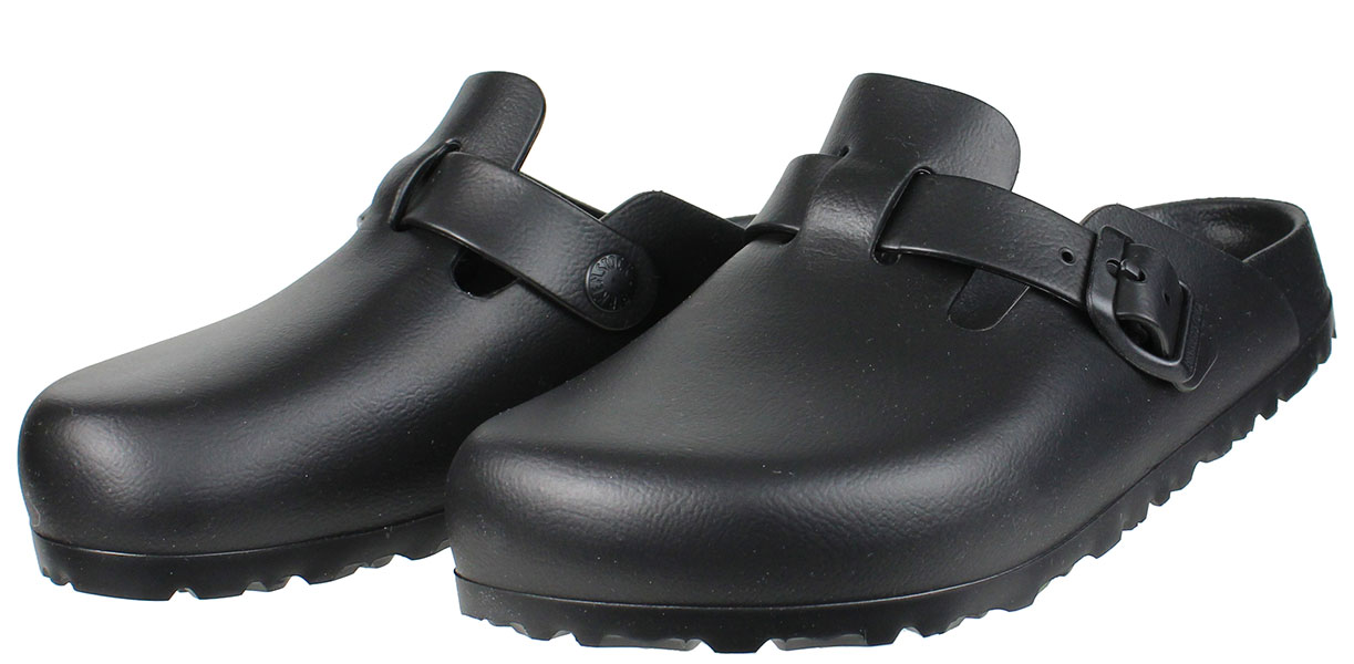 BIRKENSTOCK 1002314 Boston Μαύρο