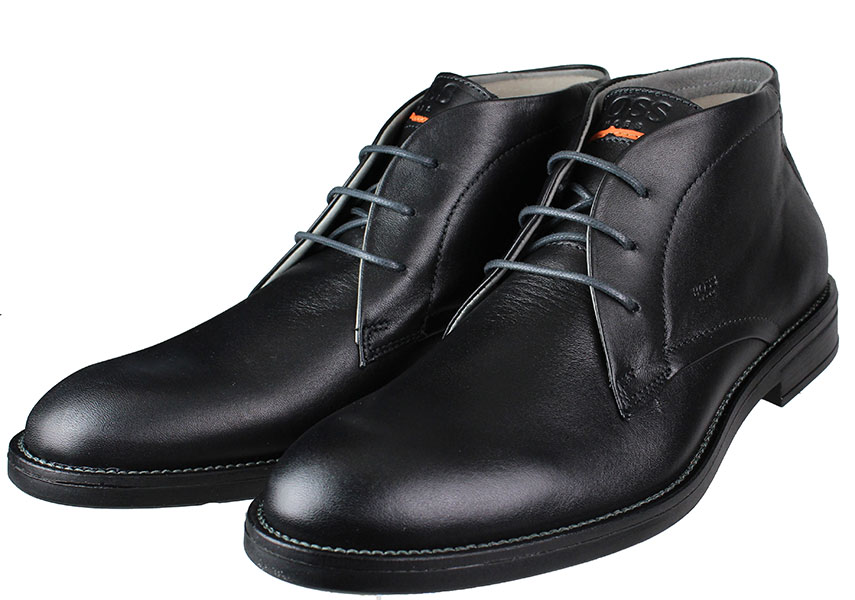BOSS Shoes PQ112 Μαύρο