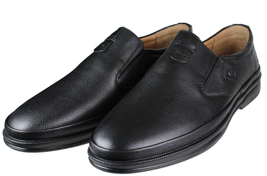 BOXER Shoes 19029 Μαύρο