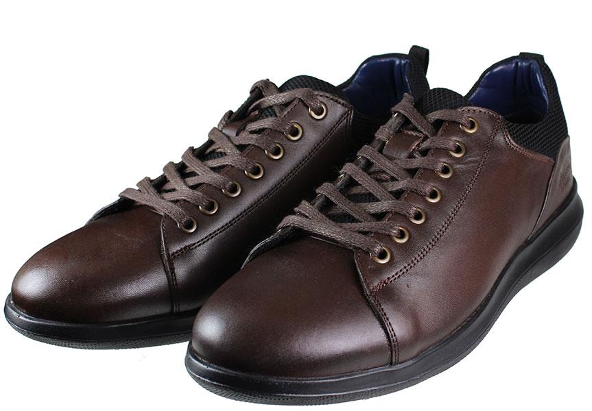 BOXER Shoes 19027 Καφέ