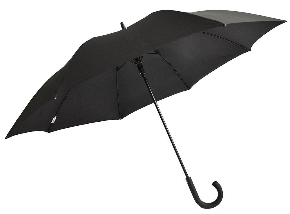 Guy Laroche 8125 Ομπρέλα μπαστούνι ανδρική αντιανεμική αυτόματη μαύρη
