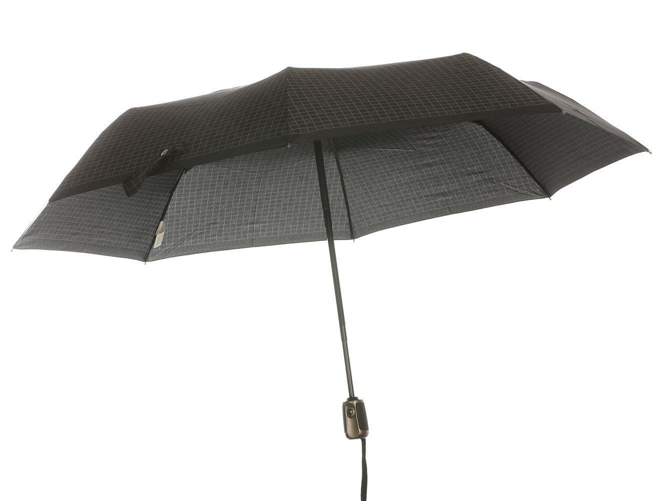 Guy Laroche 8131-01 ομπρέλα σπαστή αντιανεμική αυτόματο άνοιγμα κλείσιμο μαύρο