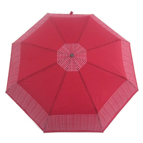 Pierre Cardin Ομπρέλα Σπαστή με Αυτόματο Μηχανισμό PC-6169 Κόκκινο