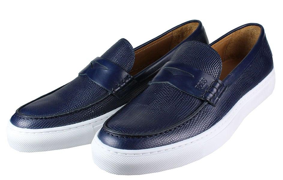 BOSS Shoes Q5409 RAPTOR Μπλέ
