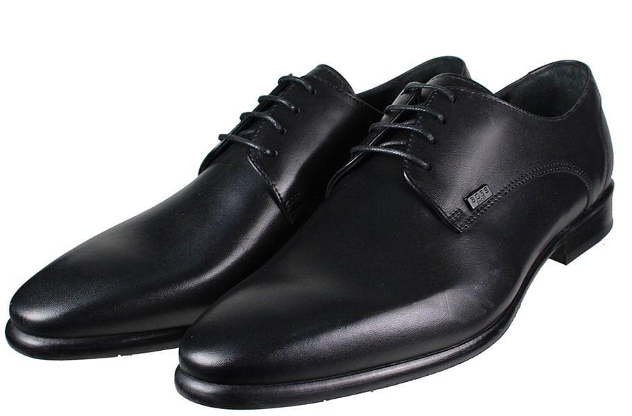 BOSS Shoes Q6383 Μαύρο