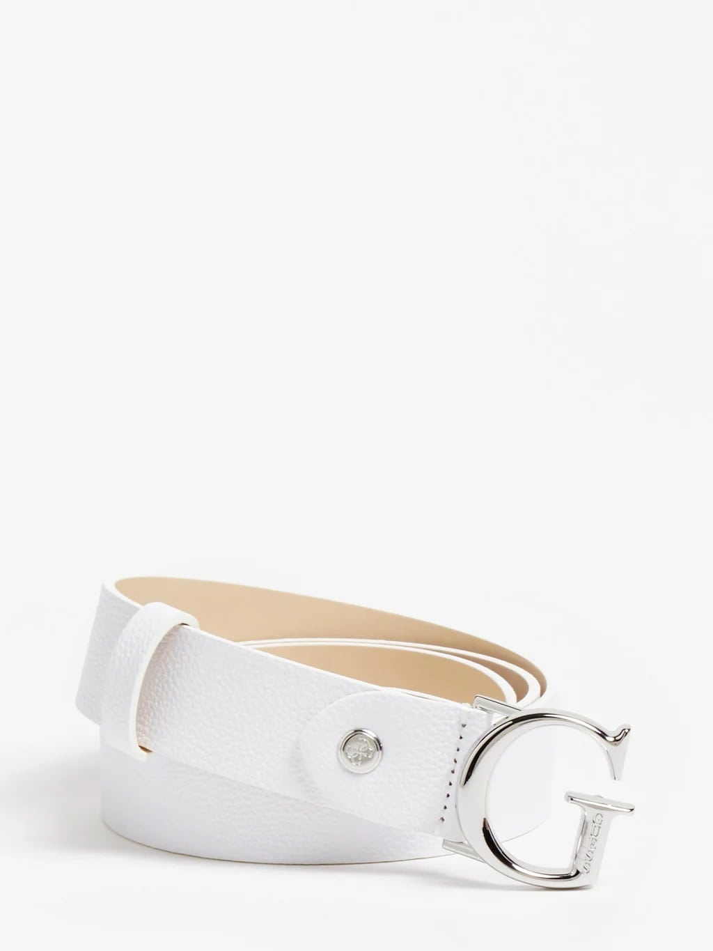 GUESS Corily Belt BW7451VIN35-WHT