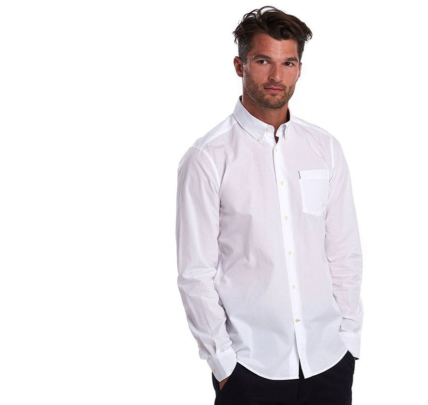 BARBOUR Headshaw Shirt MSH4716WH11 White