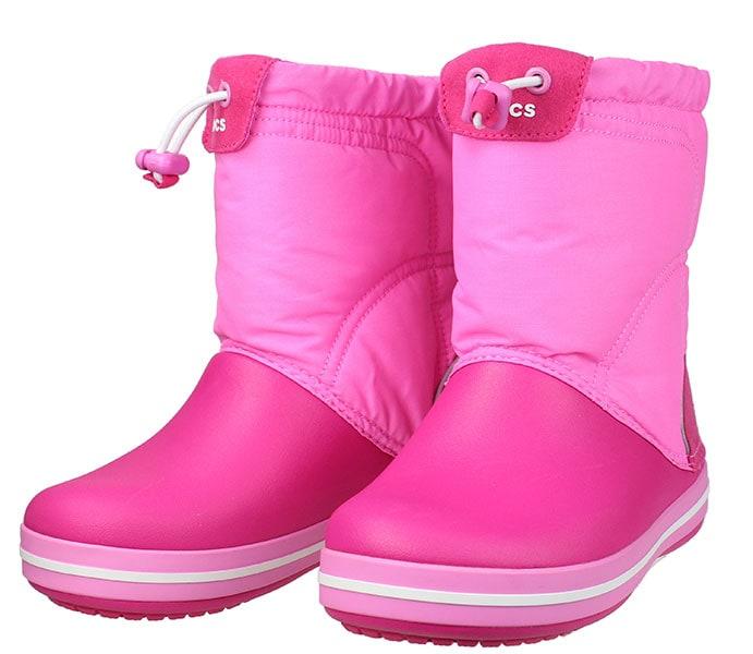 CROCS Crocband boot 203509-6LR παιδικά   κορίτσι   γαλοτσάκια