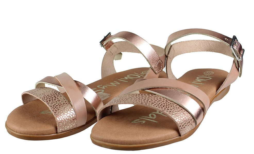Oh! My Sandals 4268 Nude Combi