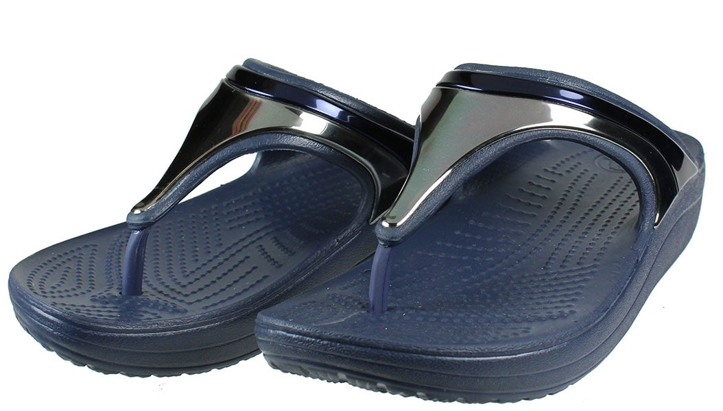 CROCS Sloane MetalBlock Flp w 205357-4JD
