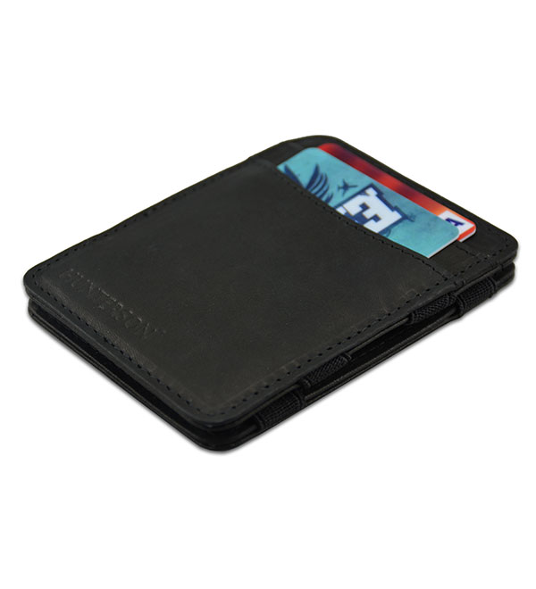 HUNTERSON MAGIC WALLET HU-MW-CS1-RFID-BLK Μαύρο