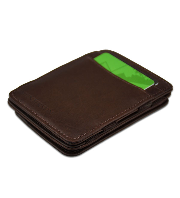 HUNTERSON MAGIC COIN WALLET HU-MW-CP1-RFID-BRN Καφέ