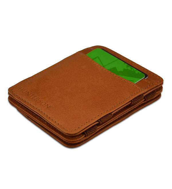 HUNTERSON MAGIC COIN WALLET HU-MW-CP1-RFID-COC Κονιάκ