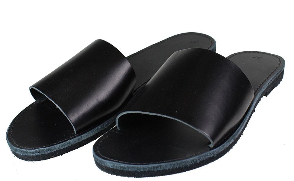 Handmade Sandals 105 Μαύρο