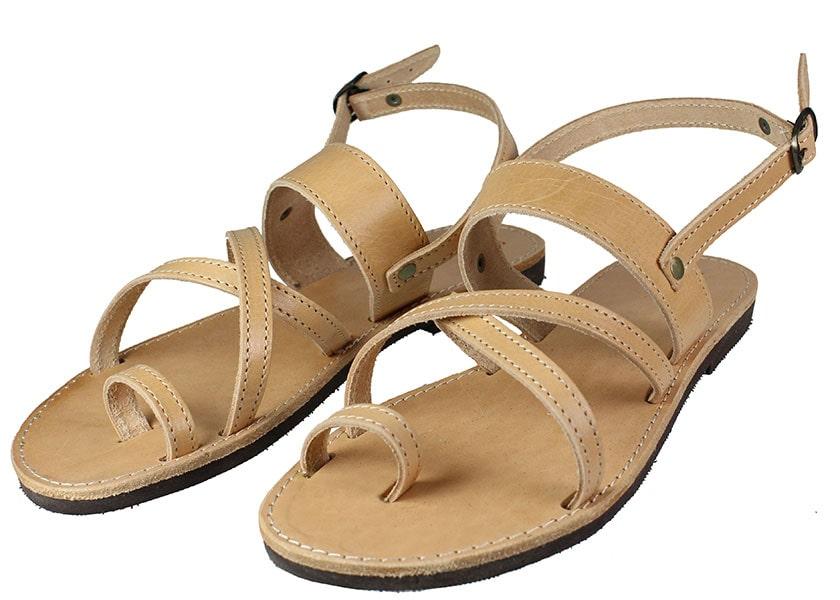 Handmade Sandals 139 Φυσικό