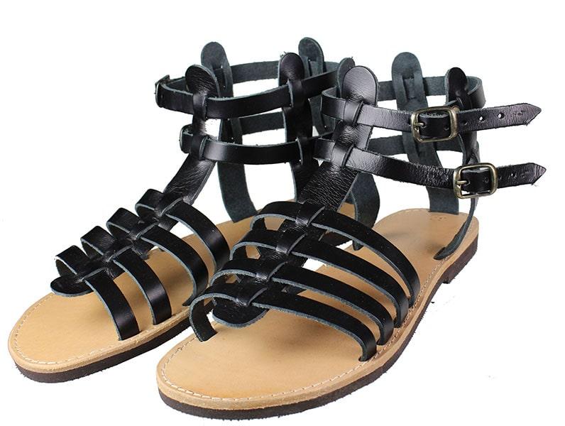 Handmade Sandals 160 Μαύρο