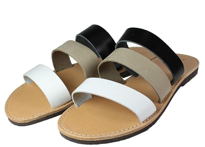 Handmade Sandals 106 Τρίχρωμο