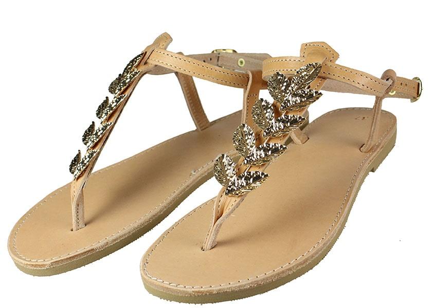 Handmade Sandals 173Σ1 Φυσικό