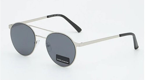 SEE sunglasses γυαλιά ηλίου 20109 Ασημί/μαύρο